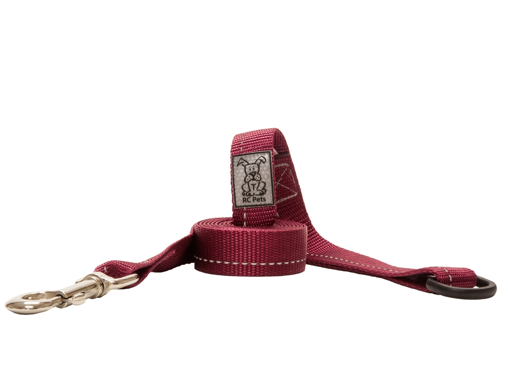 RC Pet Products Primary Burgundy Dog Leash