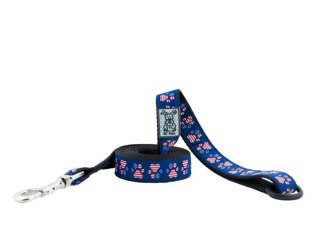 RC Pet Products Patriotic Paw Dog Leash