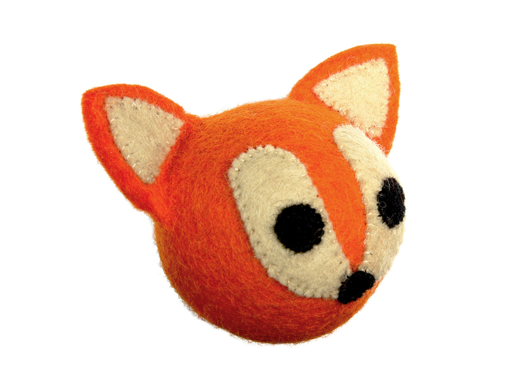 RC Pet Products Woodland Fox Dog Toy
