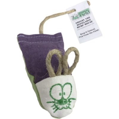 From The Field Shelby The Refillable Mouse Cat Toy