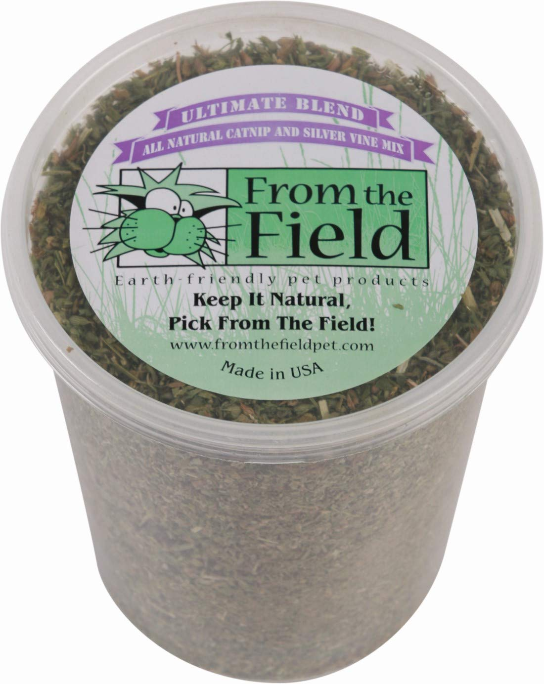 From The Field Ultimate Blend Silver Vine Cat Catnip, 3.5-oz