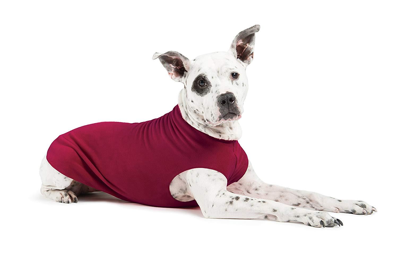 Gold Paw Stretch Fleece Garnet Dog Coat, 2