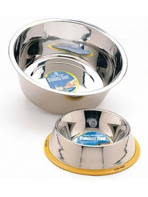 Ethical Pet Spot Ethical Stainless Steel Mirror Finish Pet Bowl, 1-pint