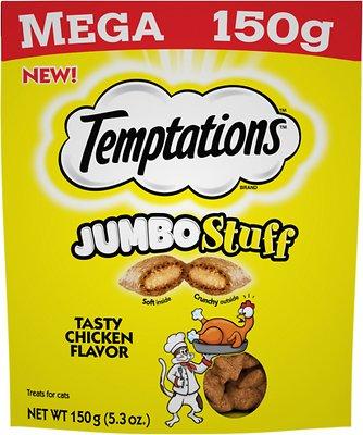 Temptations Jumbo Stuff Tasty Chicken Flavor Cat Treats