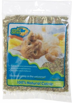 OurPets Cosmic Polybag Cat Catnip, 0.5-oz