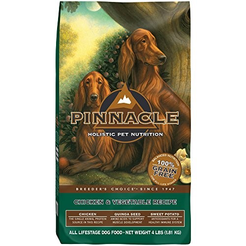 Pinnacle Holistic Pet Nutrition Breeder's Choice Chicken & Vegetable Recipe Dry Dog Food