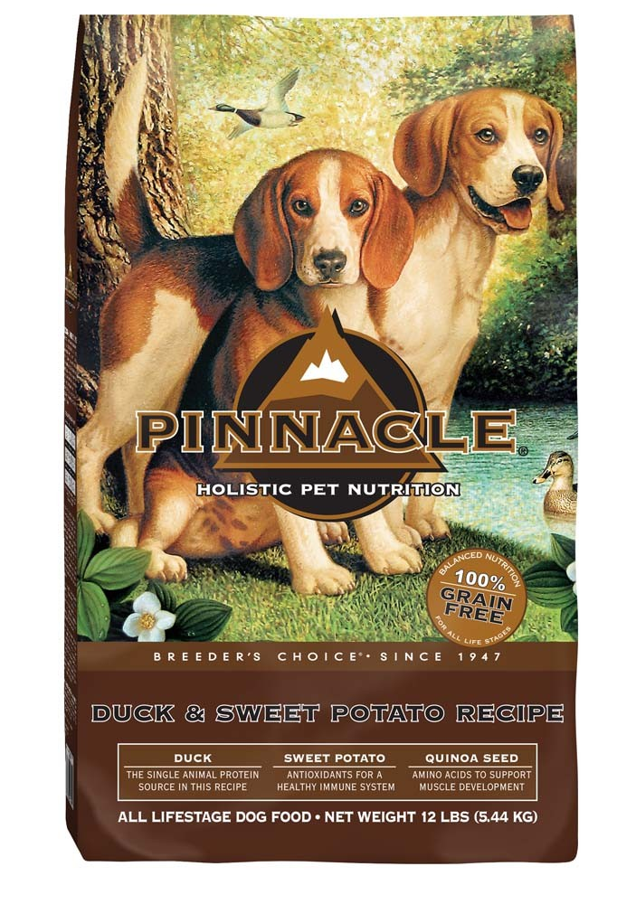 Pinnacle Holistic Pet Nutrition Breeder's Choice Duck & Sweet Potato Recipe Dry Dog Food