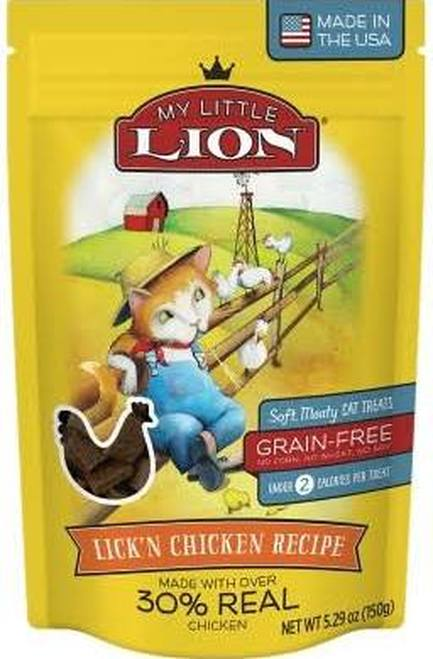 My Little Lion Lick'n Chicken Recipe Cat Treats