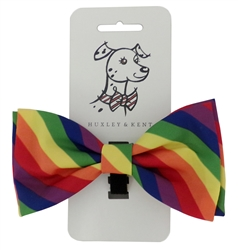 Huxley & Kent Pride Dog Bow Tie, X-Large