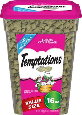 Temptations Blissful Catnip Flavor Cat Treats