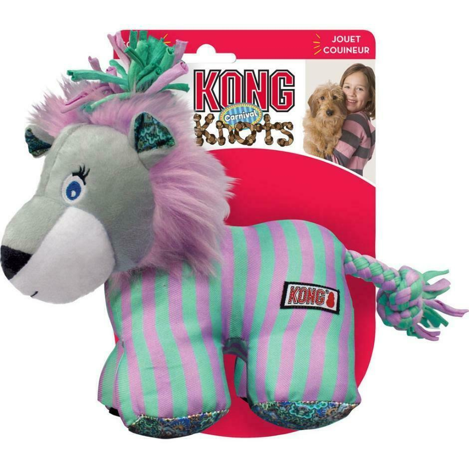 KONG Knots Carnival Lion Dog Toy, Small/Medium