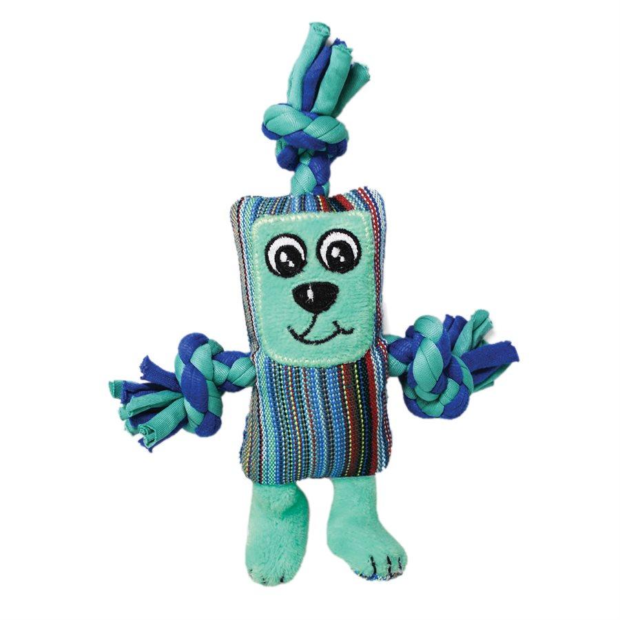 KONG Dots & Daisies Ropester Dog Toy, X-Small