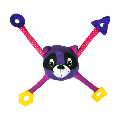 KONG Pouncearoo Raccoon Cat Toy