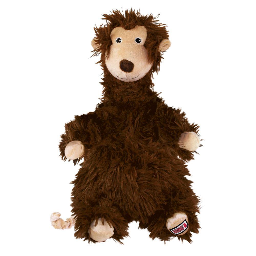 KONG Comfort Flopzie Monkey Dog Toy, Large
