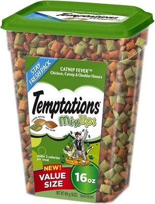 Temptations Mixups Catnip Fever Cat Treats