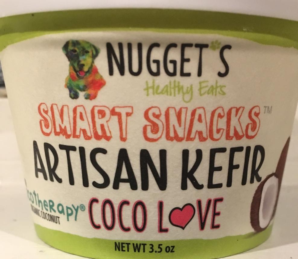 Nugget's Healthy Eats Smart Snacks Artisan Kefir Coco Love Dog & Cat Treats, 3.5-oz