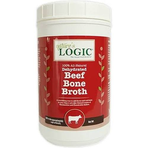 Nature's Logic Dehydrated Beef Bone Broth Dog & Cat Supplement, 12-oz