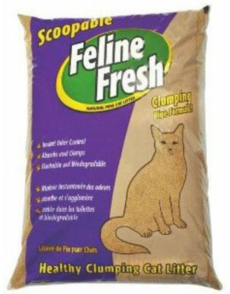 Feline Fresh Clumping Pine Cat Litter