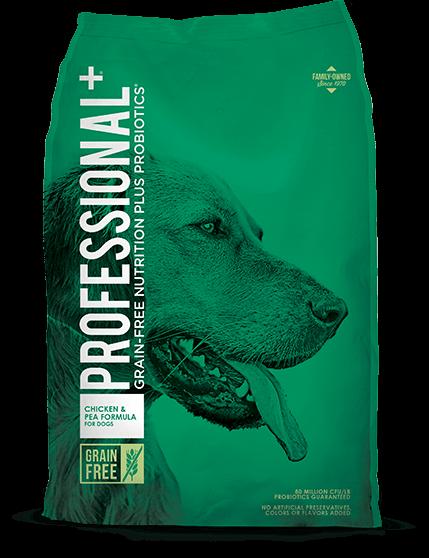 Diamond Professional+ Chicken & Pea Formula Dry Dog Food, 28-lb