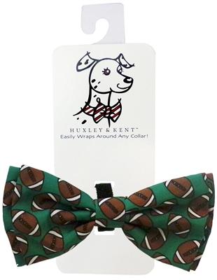 Huxley & Kent Football Dog Bow Tie, X-Large
