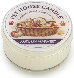 Pet House Autumn Harvest Natural Soy Candle, 1.5-oz jar