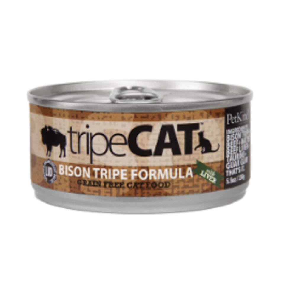 PetKind Tripe Cat Bison Tripe Formula Wet Cat Food