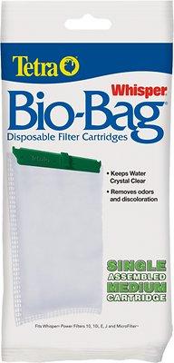 Tetra Whisper Bio-Bags Medium Filter Cartridge, 1 count