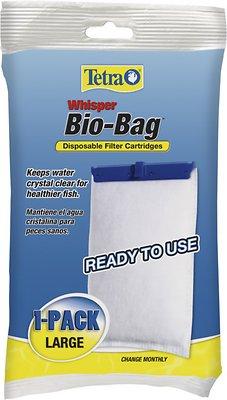 Tetra Whisper Bio-Bags Large Filter Cartridge, 1 count