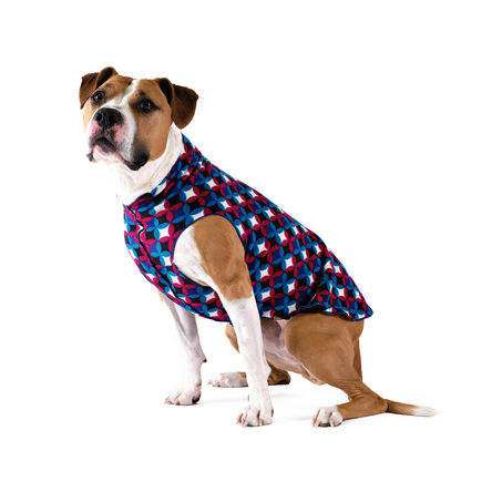 Gold Paw Stretch Fleece Winter Mod Dog Coat, 8