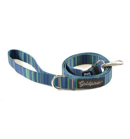 Gold Paw Adjustable Dog Leash, Riverbed