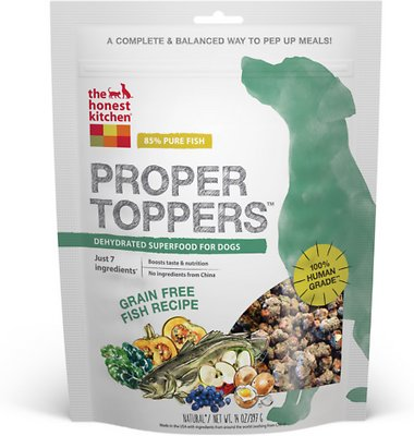 The Honest Kitchen Proper Toppers Grain-Free Fish Recipe Dog Food Topper