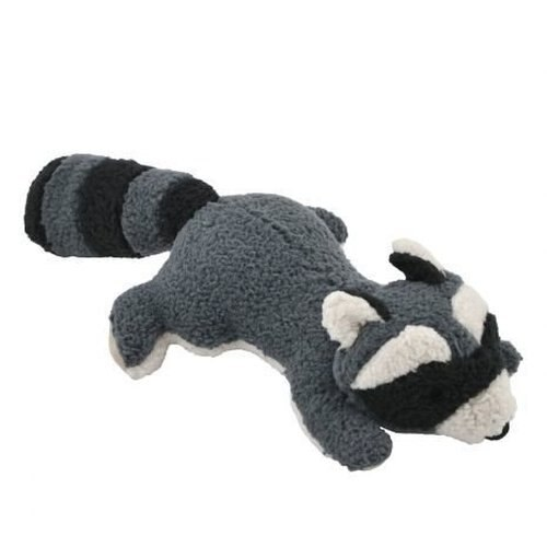 Tall Tails Raccoon Dog Toy, 12-in
