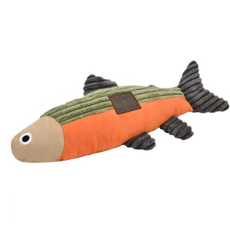 Tall Tails Fish Squeaker Dog Toy