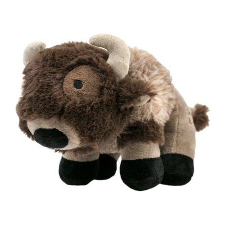 Tall Tails Buffalo Squeaker Dog Toy, 9-in