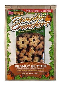 K9 Granola Factory Pumpkin Crunchers with Peanut Butter Dog Treats, 14-oz