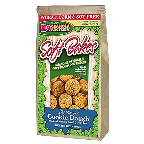 K9 Granola Factory Soft Bakes Cookie Dough Dog Treats, 12-oz