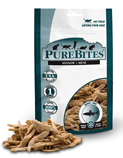 Pure Bites Minnow Freeze-Dried Cat Treats