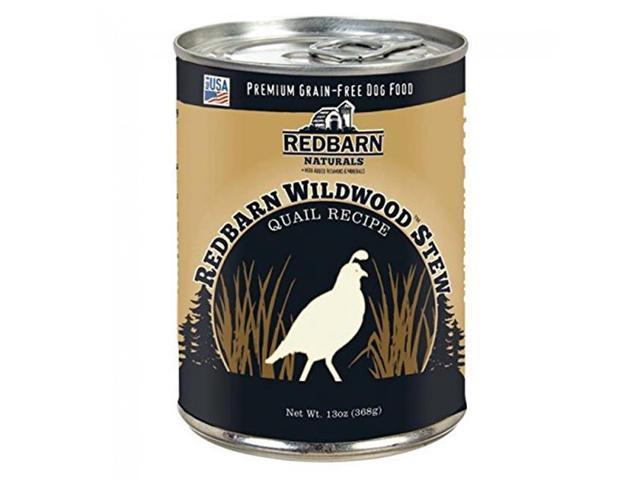 Redbarn Wildwood Stew Quail Recipe Wet Dog Food, 12.5-oz