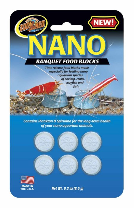 Zoo Med Nano Banquet Food Blocks, 10 pack