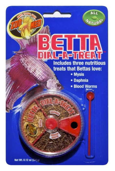 Zoo Med Betta Dial-a-Treat Fish Feeder, 0.12-oz