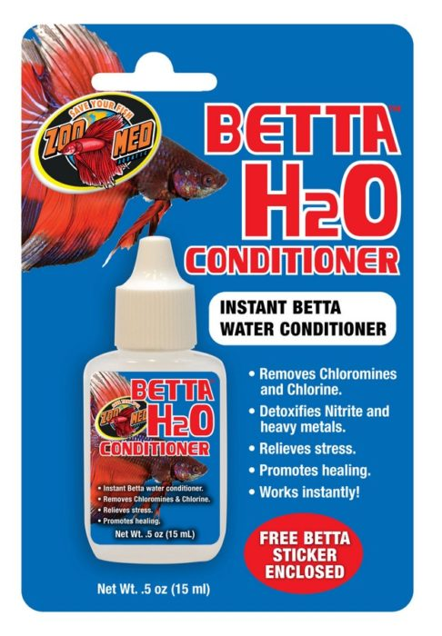 Zoo Med H2O Betta Water Conditioner, .5-oz bottle