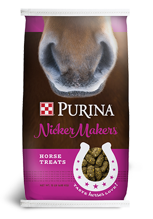 Purina Nicker Makers Horse Treats, 15-lb