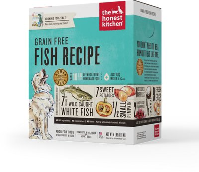 The Honest Kitchen Grain-Free Fish Recipe Dehydrated Dog Food