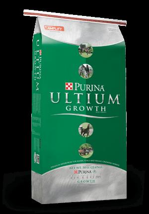 Purina Ultium Growth Formula Horse Supplement, 50-lb