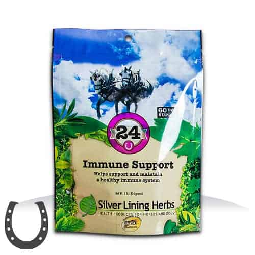 Silver Lining Herbs 24 Immune Support Horse Supplement