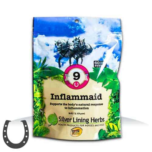 Silver Lining Herbs 9 Inflammaid Horse Supplement, 1-lb