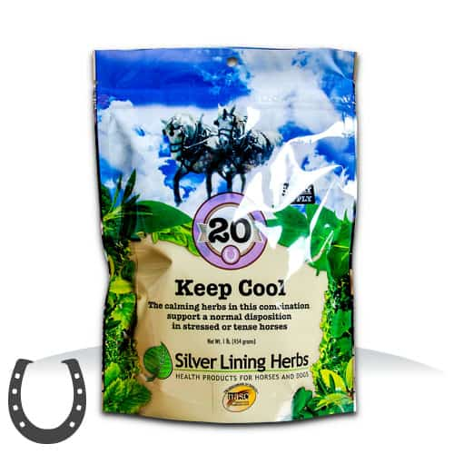 Silver Lining Herbs 20 Keep Cool Horse Supplement, 1-lb