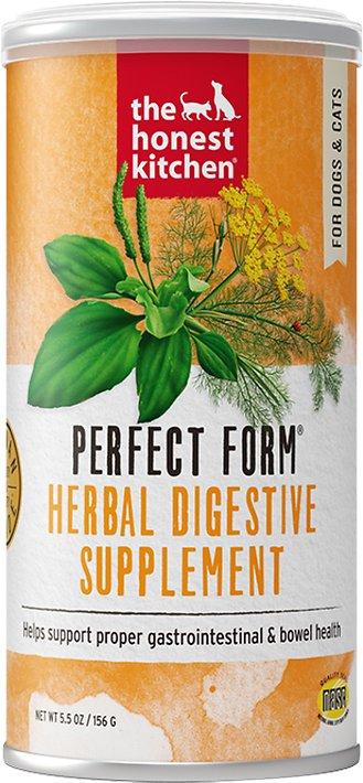 The Honest Kitchen Perfect Form Herbal Dog & Cat Nutritional Supplement, 5.5-oz jar