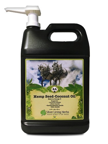 Silver Lining Herbs 44 Seed-Coconut Oil Horse Supplement