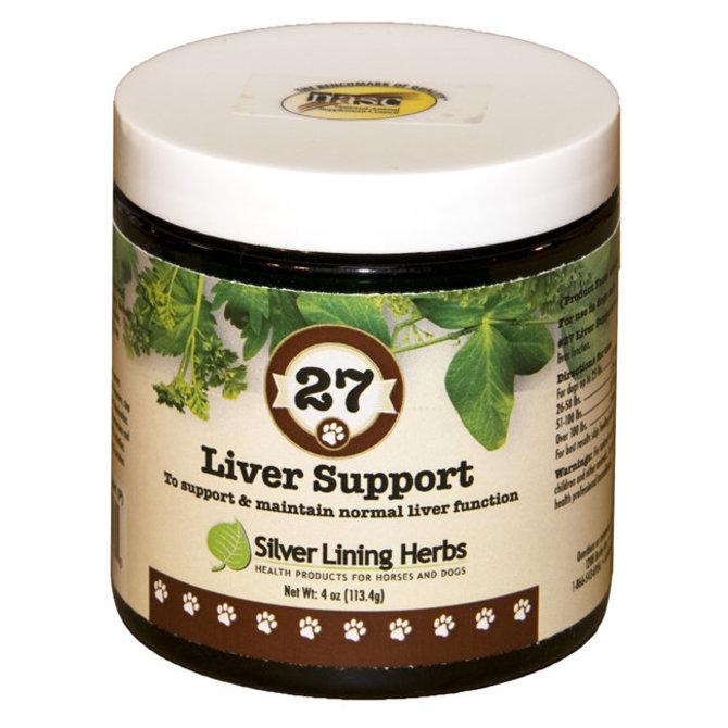 Silver Lining Herbs 27 Liver Support Powder Dog Supplement, 4-oz